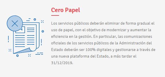 cero  papel transformacion digital